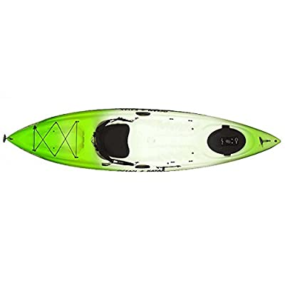 07.6160.1045 Ocean Kayak Caper Classic Recreational Sit-On-Top Kayak from Johnson Outdoors Watercraft