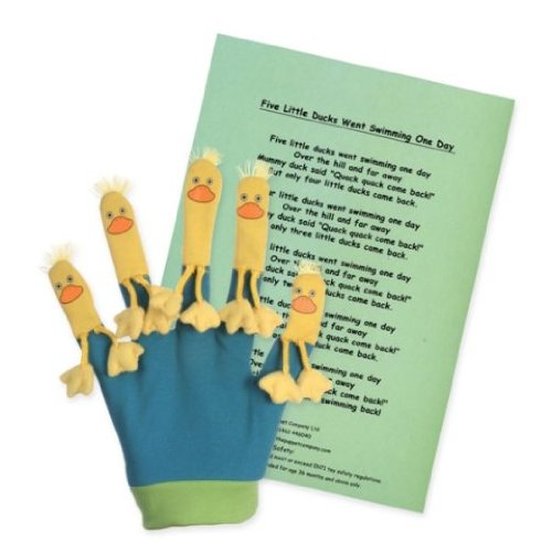 The Puppet Company Favourite Song Mitts Five Little Ducks Glove Puppet
