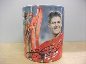Steven Gerrard Liverpool Fc Mug Cup Sports Football Soccer Memorabilia