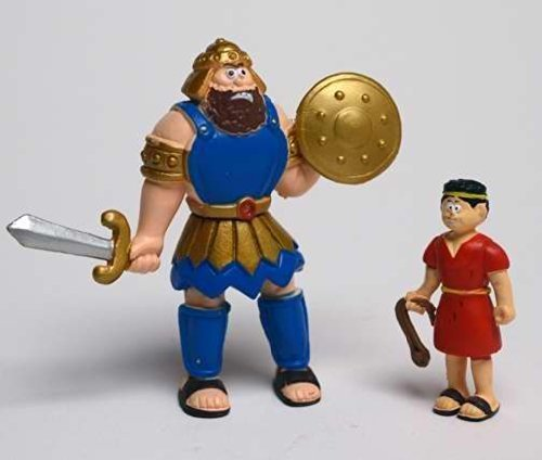 Toy - Action Figure - Beginners Bible - David And Goliath