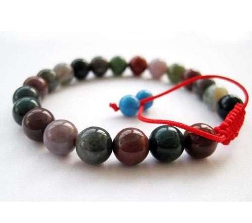 8mm Jade Stone Beads Tibetan Buddhist Wrist Mala