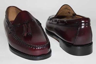 g h bass g730bur mocassins gland cuir homme bordeaux uk9 5 eu43 chaussures. Black Bedroom Furniture Sets. Home Design Ideas