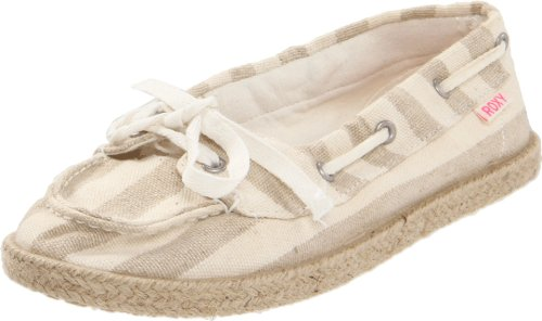 Roxy Women's Ahoy Jute Boat Shoe,Natural,6 M US