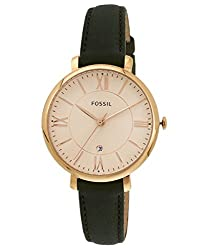 Fossil Jacqueline Analog Pink Dial Womens Watch - ES3707I