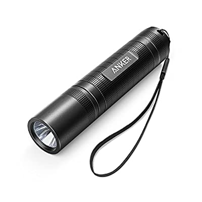 Anker LC40 LED Flashlight, Pocket-Sized LED Torch, Super Bright 400 Lumens CREE LED, IP65 Water Resistant, 3 Modes High/Low/Strobe for Indoors and Outdoors (Camping, Hiking, Cycling and Emergency Use) from Anker