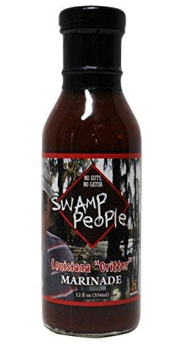 Swamp People Louisiana Critter Marinade No Guts No Gator | Seasoning (Louisiana Critter Marinade, 12 oz) (Georgia Peach Salsa compare prices)