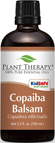 Copaiba Balsam Essential Oil.100 ml (3.3 oz). 100% Pure, Undiluted, Therapeutic Grade.
