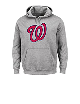 MLB Hooded Long Sleeve Tek Patch Pullover
