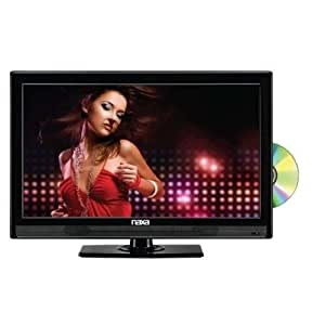 "Naxa 24"" Widescreen Full 1080P HD LED TV with Built-In Digital TV Tuner, USB/SD Inputs & DVD Player, 16:9 Aspect Ratio, 1000:1 Contrast Ratio"