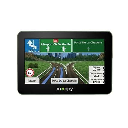 Navigation GPS MAPPY ITIS446 NOIR EUROPE 14 PAYS CARTE A VIE