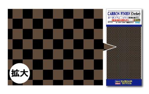 トライツールフィニッシュシリーズ TF911 カーボンフィニッシュ (開繊糸織) チェッカー柄
