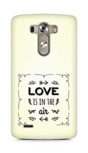 Amez Love is in the Air Back Cover For LG G3