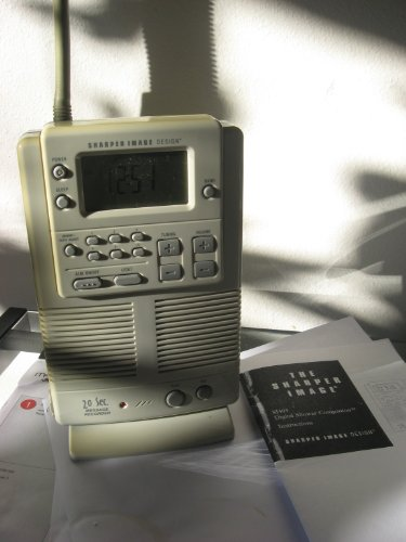 Sharper Image AM FM Radio Shower OUTDOOR Message Center SI495 (Sharper Image Shower Radio compare prices)