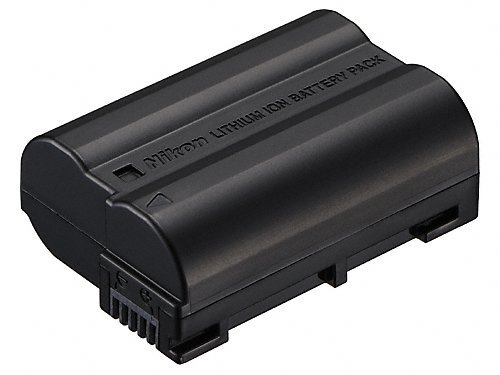 Nikon EN-EL15 Rechargeable Li-Ion Battery for Select DSLR Cameras (Retail Packaging)