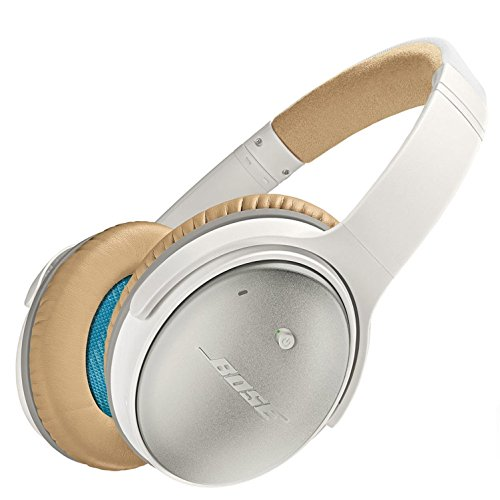 Bose QuietComfort 25 Acoustic Noise Cancelling Headphones - Apple devices, White - Wired