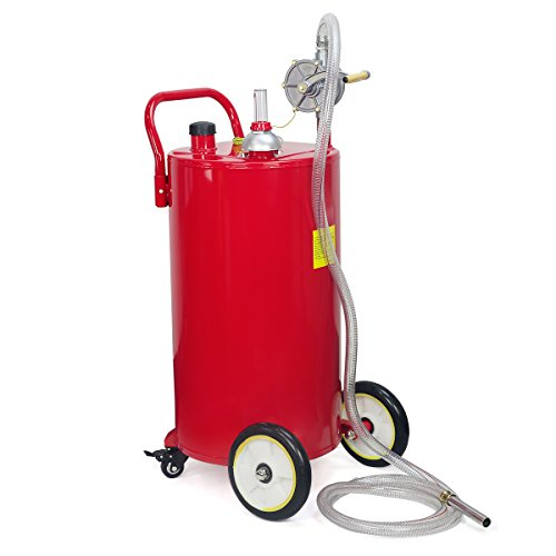 35-Gallon Portable Fuel Transfer Gas Can Caddy Storage Tank (Gallon Gas Tank compare prices)