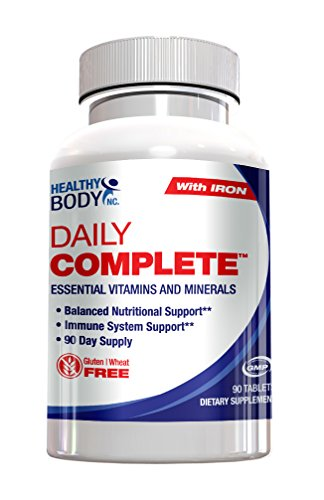 Healthy Body Daily Complete, Essential Vitamins And Minerals, 90 Day Supply