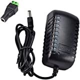 JACKYLED DC 12V 2A 2.0A Switching Power Supply Adapter For 100V- 240V AC 50/60Hz