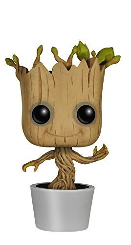 Funko Pop! Marvel Guardians Of The Galaxy Dancing Groot Vinyl Bobble Figura di azione