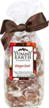 Yummy Earth Organic Candy Drops Ginger Zest 8212 6 oz