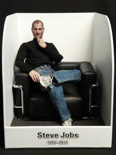 日本未発売 Steve Jobs スティーブジョブズ フィギュア 超リアル1/6スケール塗装済み完成品