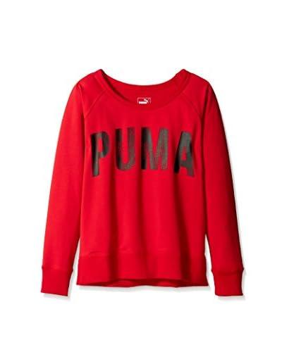 PUMA Women's Logo Sweatshirt