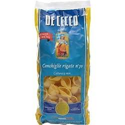 De Cecco Pasta Conchiglie Rigate, 500g