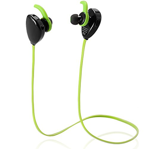 bluetooth headphones dealgadgets noise isolating v4 1 wireless stereo running gym exercise. Black Bedroom Furniture Sets. Home Design Ideas