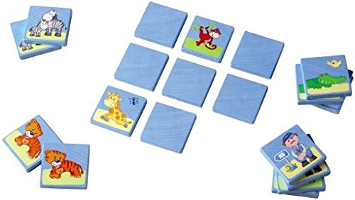 Haba Matching Game In The Zoo