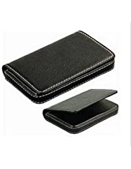 Leather Visiting Card Holder - Black (1d56) - Business And Credit Card / Cards Holder For Mens & Womens By Om