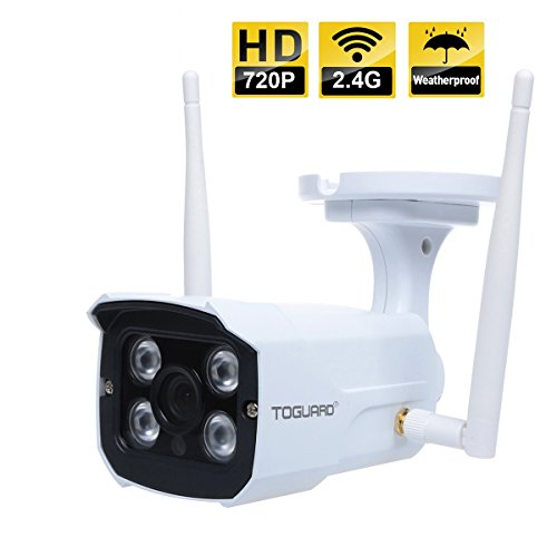 Lowest Prices! TOGUARD Wireless Outdoor Security IP Camera, Home Surveillance Video Cam/DVR, 32.8 fe...