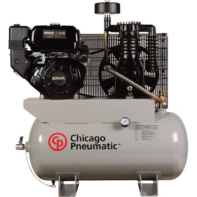 - Chicago Pneumatic Gas-Powered Air Compressor - 12 HP, 30 Gallon, Model# RCP-1230G KOHLER