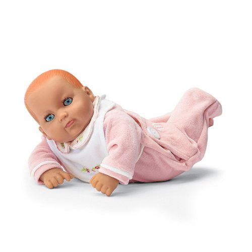 The My Twinn Toddlers are slightly smaller, at 20 inches, and also have the soft cuddly poseable bodies. All of our My Twinn dolls were purchased new from the factory in their original boxes. The My Twinn management has closed down their operations for the foreseeable future.