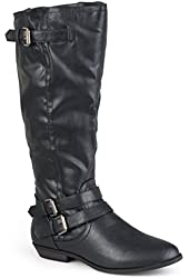 Madden Girl by Steve Madden Womens Buckle Detail Boots