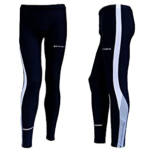 AIRTRACKS WINTER-FUNKTIONS-LAUFHOSE (TIGHT) - LANG - schwarz - S