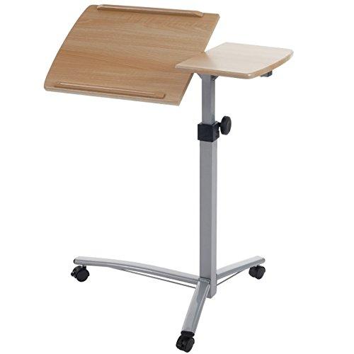 Laptoptisch-Stanford-Notebook-Tisch-Beistelltisch-hhenverstellbar-schwenkbar-natur-braun