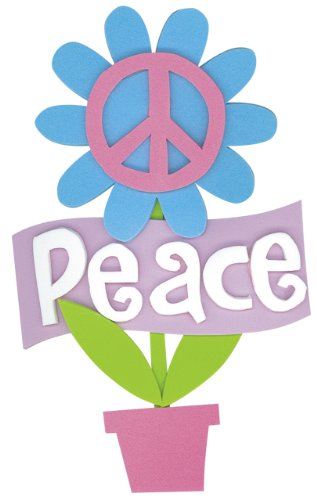 Darice, FM PEACE FLOWER KIT ACT DWO