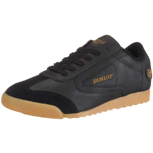 Dunlop Superstar 100 Trainers Men black Schwarz (Black) Size: 10 (44 EU)