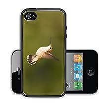 buy Liili Premium Apple Iphone 4 Iphone 4S Aluminum Case Beautiful Female Hummingbird Mid Flight With Tailfeathers Spread And Wings Up On Green Blurred Vegetation Background Image Id 21933540