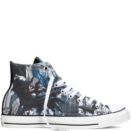 Converse Chuck Taylor Hi All Star DC Comics Batman Dark Knight 148380C Shoes (7)