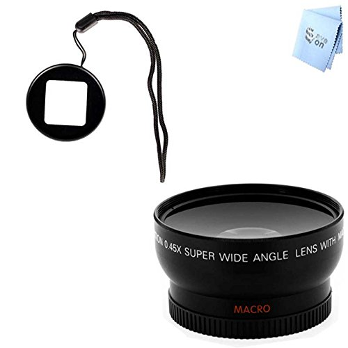 Gopro Hero3 And Hero3+ Wideangle Lens And Lens Filter Adapter