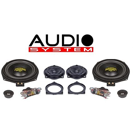 Audio system 200 x bMW mK2 x--iON sERIES 3 voies-système actif partie avant