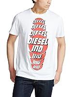 Diesel Camiseta Manga Corta T-Palagia (Blanco)