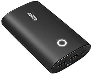 Anker® 2nd. Gén. Astro2 9600mAh Batterie Externe Portable munie de la Technologie PowerIQ pour pour iPhone 6, 5s, 5; Galaxy S5, S4, Note 4 Note 3; Nexus 4, 5, 7, 10; HTC One, One 2 (M8); PS Vita; autres téléphones et tablettes