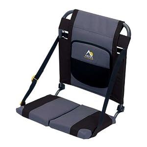 Click to buy Black Sturdy Canoe Seat with cushiony 16