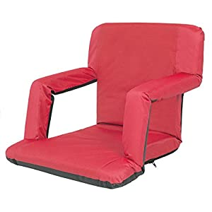 Best Choice Products Portable Reclining Seat Polyester Padded Cushion Caming Outdoor Beach Chair by Best Choice Products
