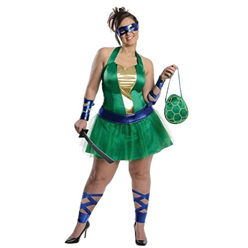 Teenage Mutant Ninja Turtles Leonardo Adult Plus Costume Dress