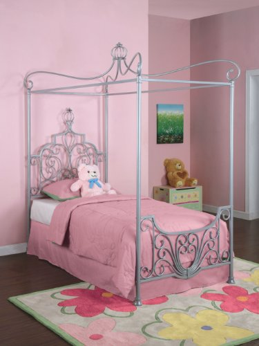 Twin Canopy Bed Frame 7507 front