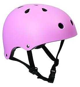SFR Skate/Scooter/BMX Helmet - Matt Pink S-M (53cm-56cm)