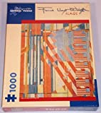 Frank Lloyd Wright Flags 1000pc Jigsaw Puzzle
